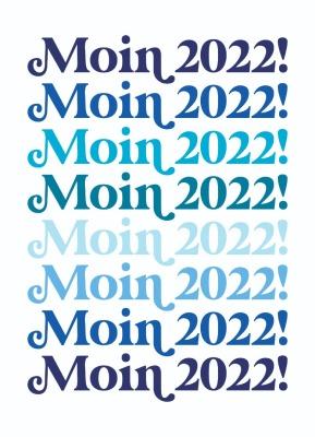 Postkarte Moin 2022