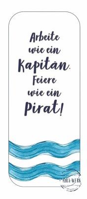 Lesezeichen Pirat