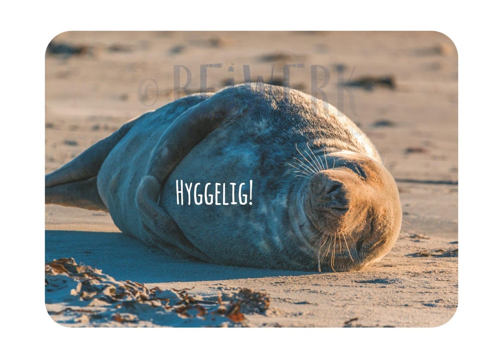 Postkarte Hyggelig - 1