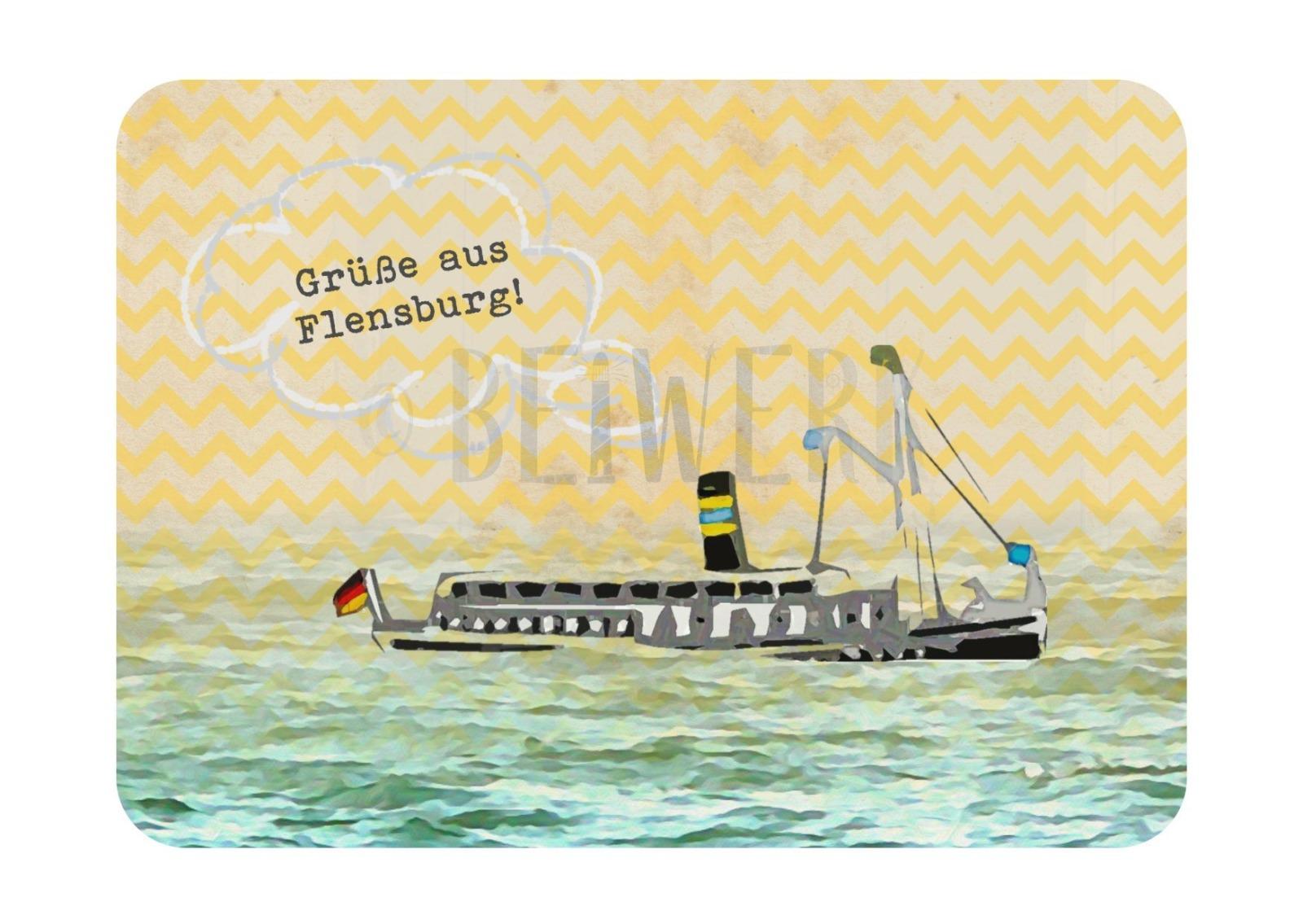 Postkarte Alexandra - 1