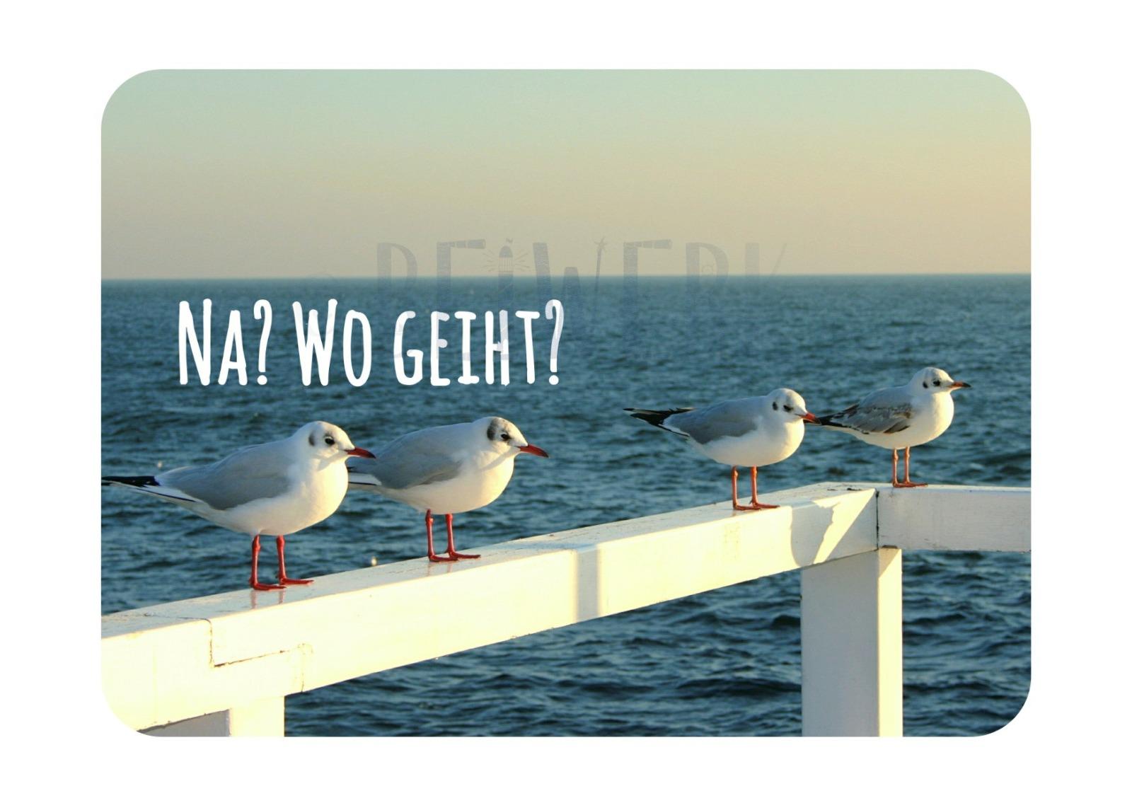 Postkarte Wo geiht - 1