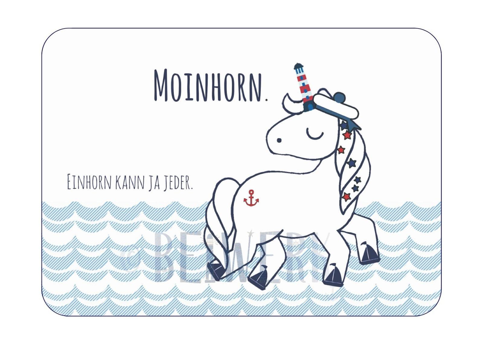 Postkarte Moinhorn - 1