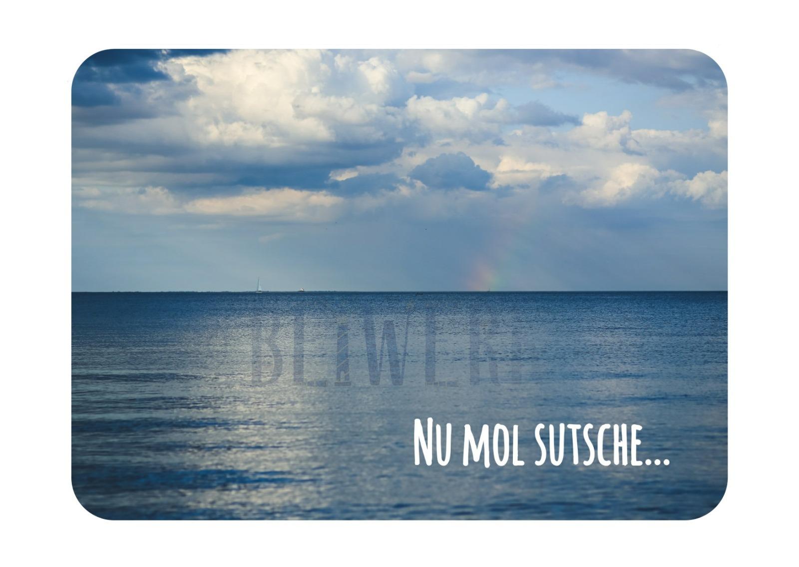 Postkarte Nu mol sutsche - 1