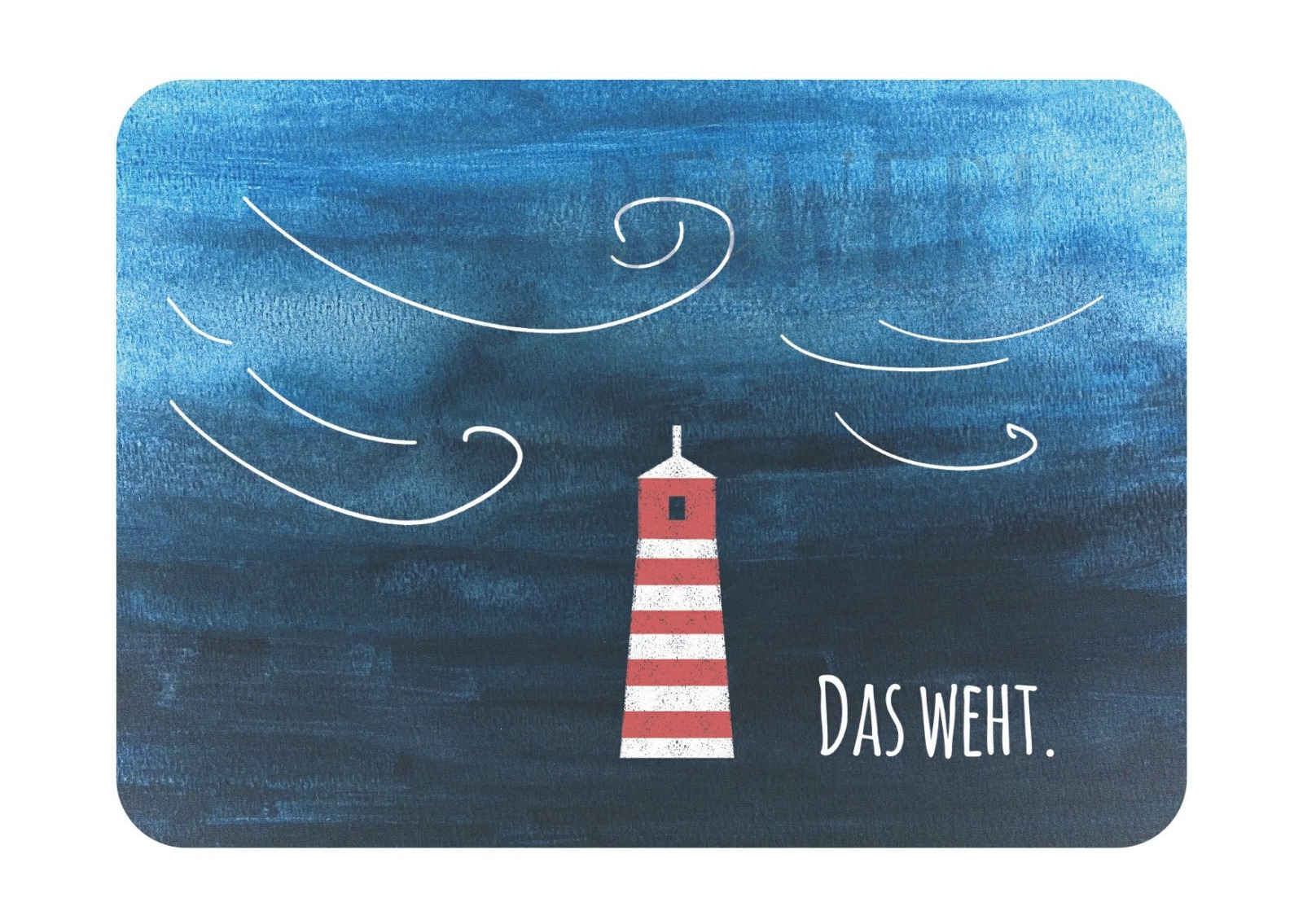Postkarte Das weht - 1