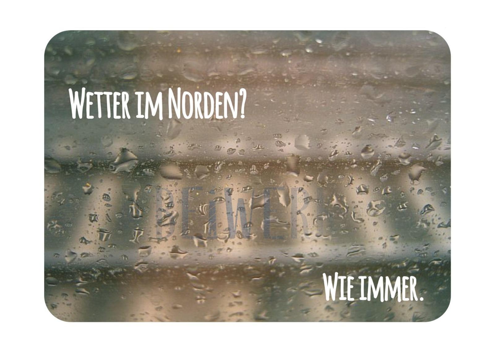 Postkarte Wetter im Norden - 1