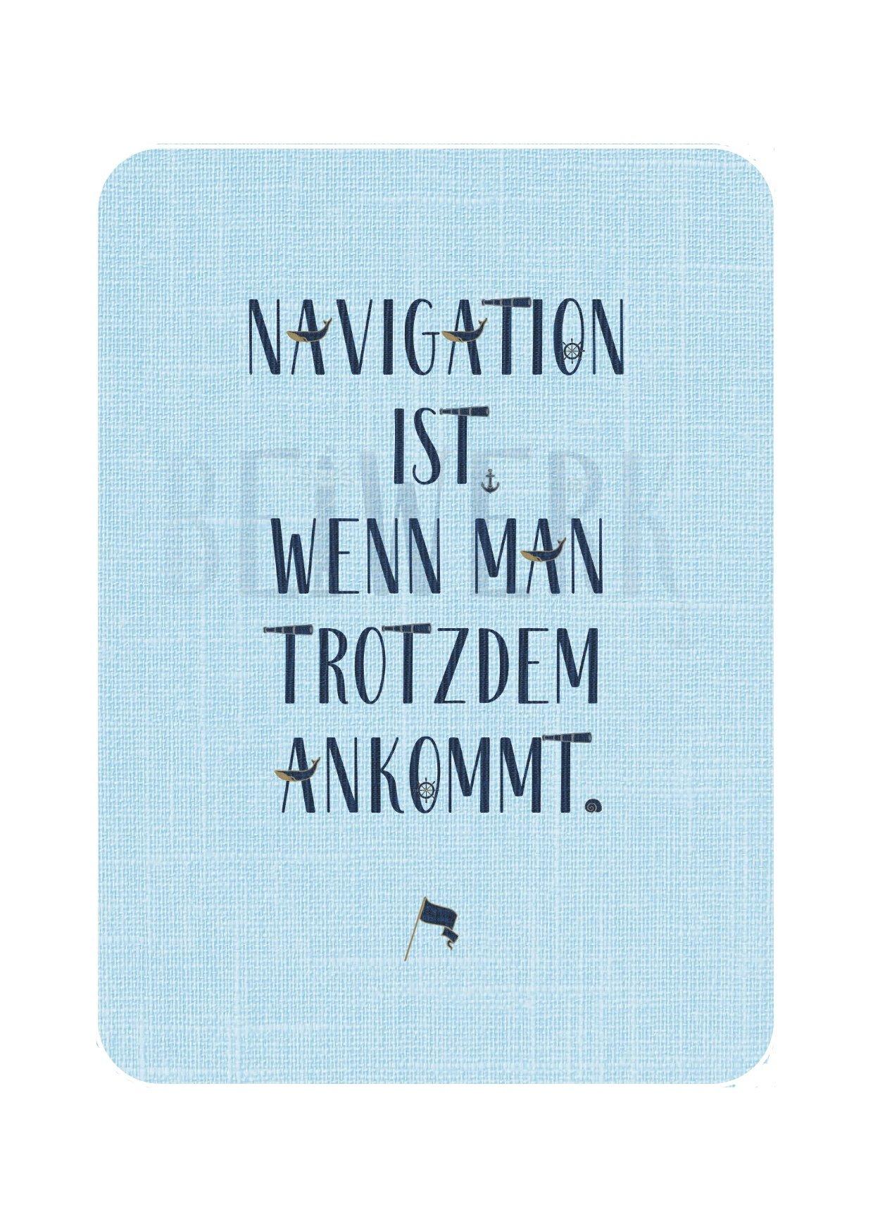 Postkarte Navigation - 1