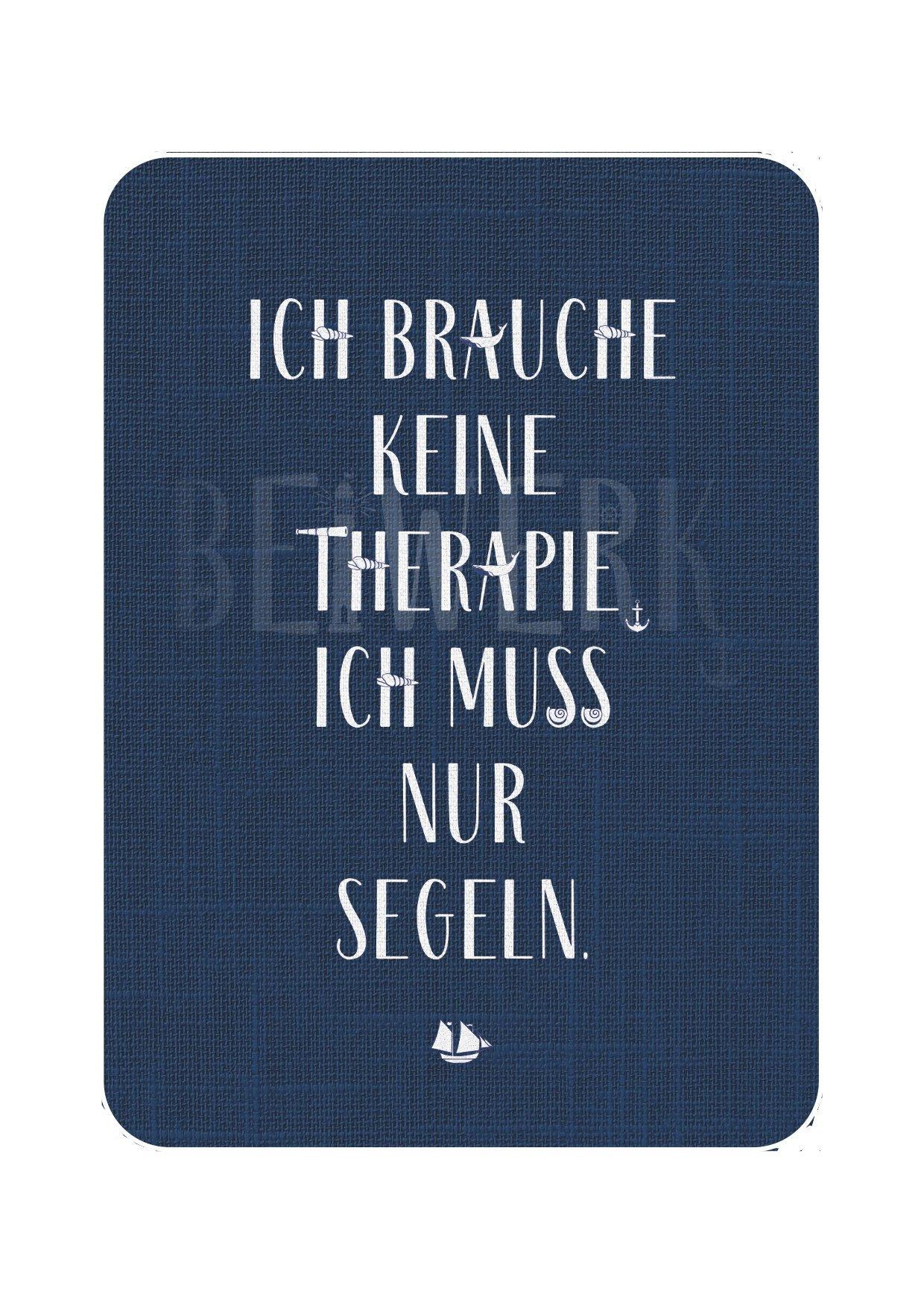 Postkarte Segel-Therapie - 1