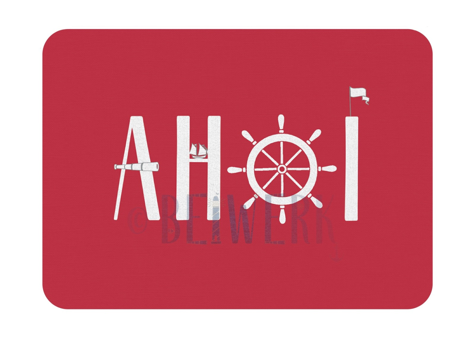 Postkarte Ahoi - 1