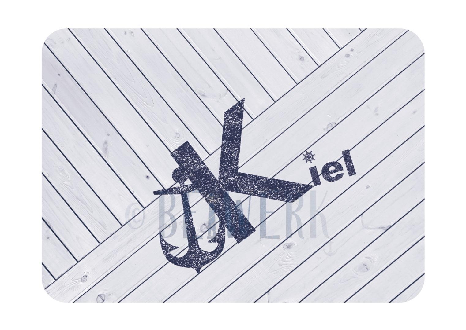 Postkarte Kiel nautisch - 1