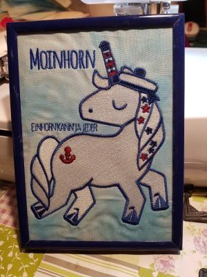 Stickdatei Moinhorn
