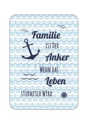 Postkarte Familie Anker PK-185