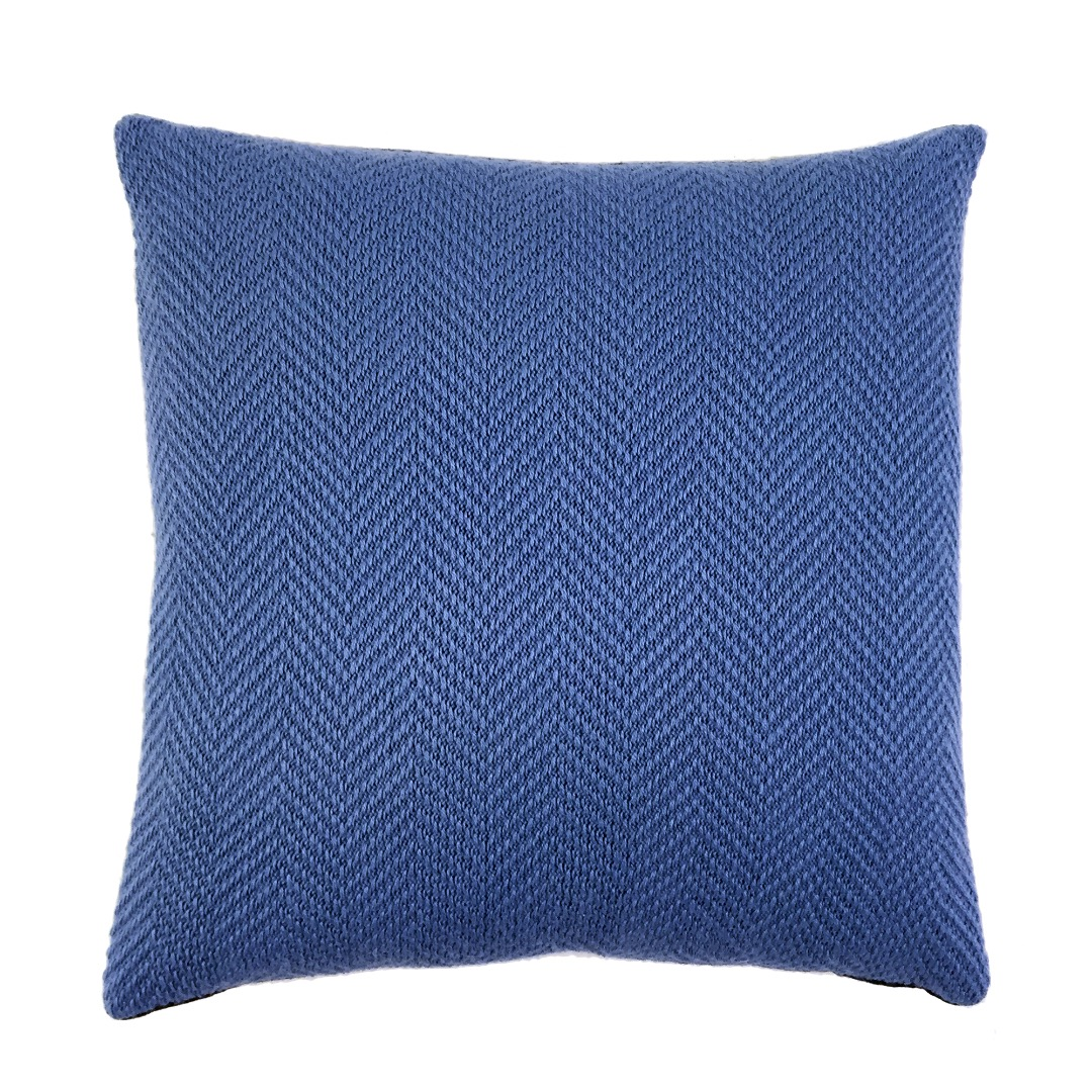 kissenh lle mono blau 40x40 landhof manufaktur. Black Bedroom Furniture Sets. Home Design Ideas
