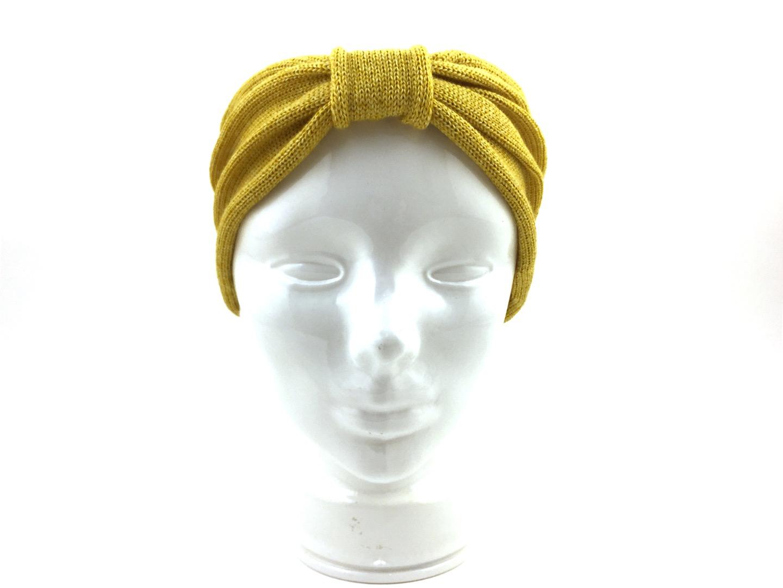Stirnband EVE gelb