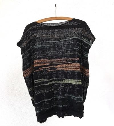 Shirt CLEM I - Golddurchwirktes Strickshirt aus Merinowollmix