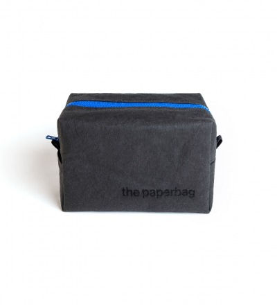 Cosmetic bag - black | royal