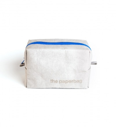 Cosmetic bag - grey | royal