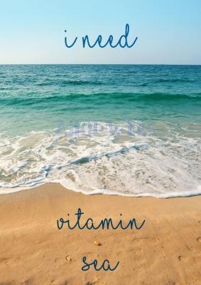 Vitamin Sea - Größe 13 18 cm