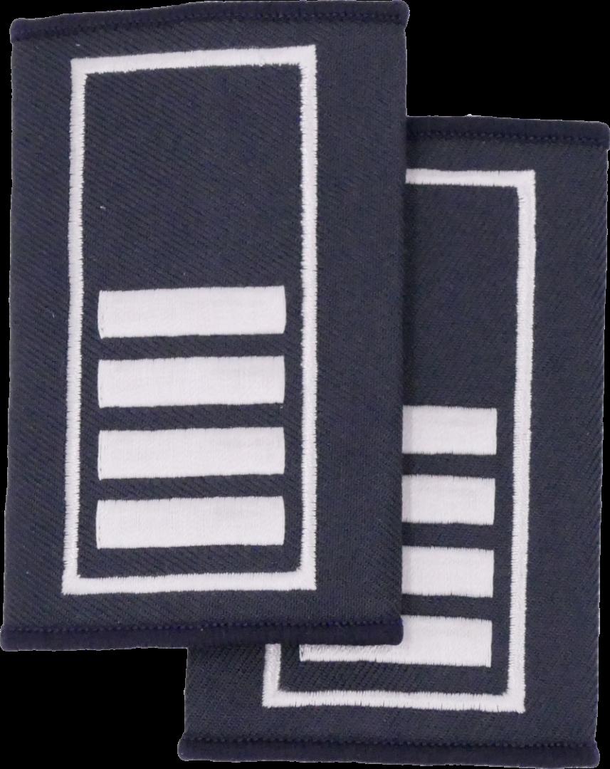 Berlin Brandamtsrat - Berufsfeuerwehr Dienstgradschlaufen / - 2