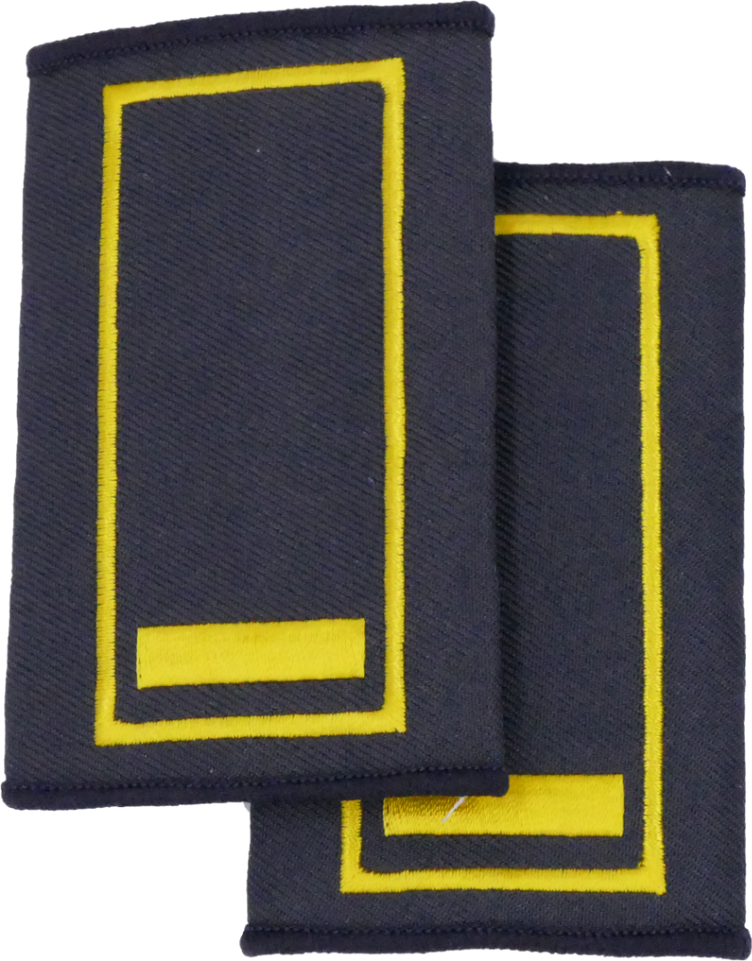 Berlin Brandrat - Berufsfeuerwehr Dienstgradschlaufen / - 2