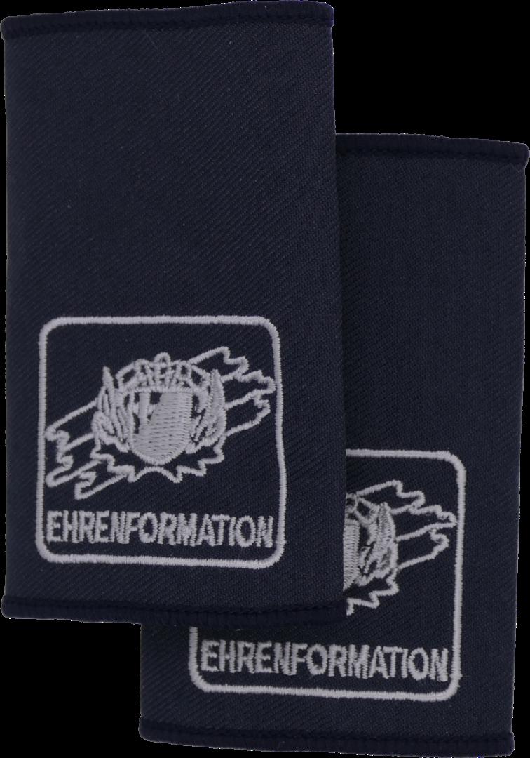 Rheinland-Pfalz Ehrenformation - FFW Dienstgradschlaufen /