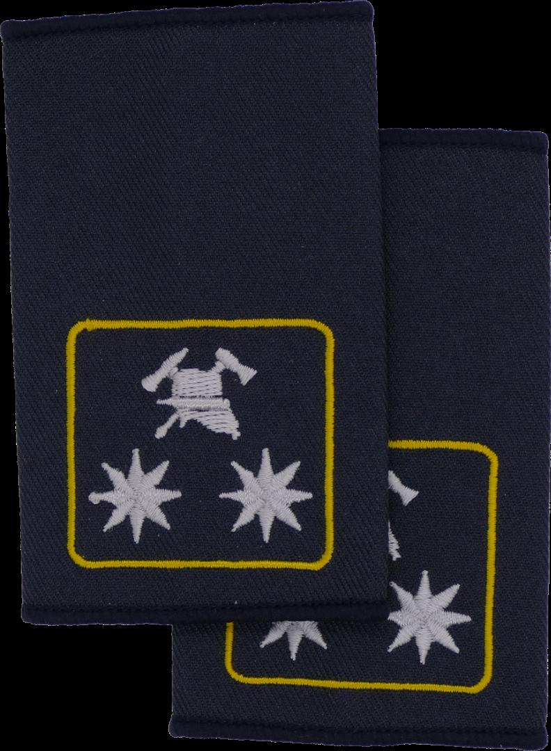 Rheinland-Pfalz Fachbereichsleiter Landesfeuerwehrverband FFW Dienstgradschlaufen Schulterschlaufen