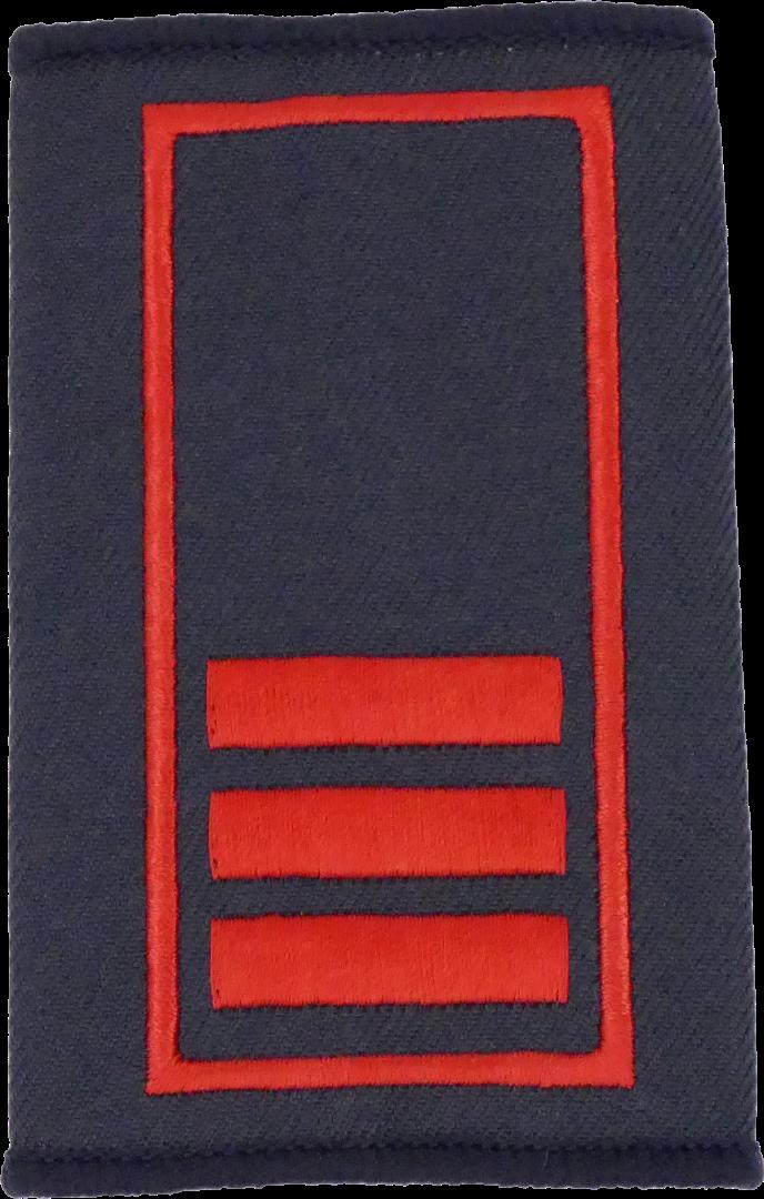 Berlin Oberbrandmeister - Berufsfeuerwehr Dienstgradschlaufen / - 1