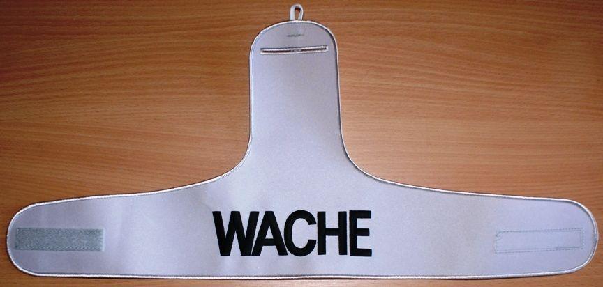 Armbinde WACHE SECURITY