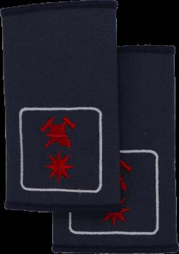 Rheinland-Pfalz Fachbereichsmitglied Kreisfeuerwehrverband FFW Dienstgradschlaufen Schulterschlaufen