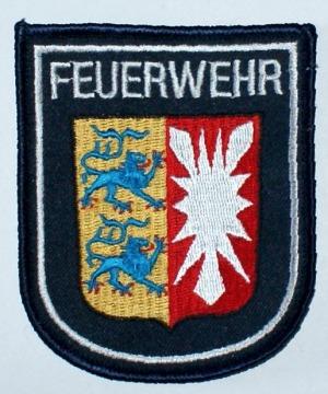Feuerwehr Schleswig-Holstein Wappenaufnäher / Ärmelabzeichen