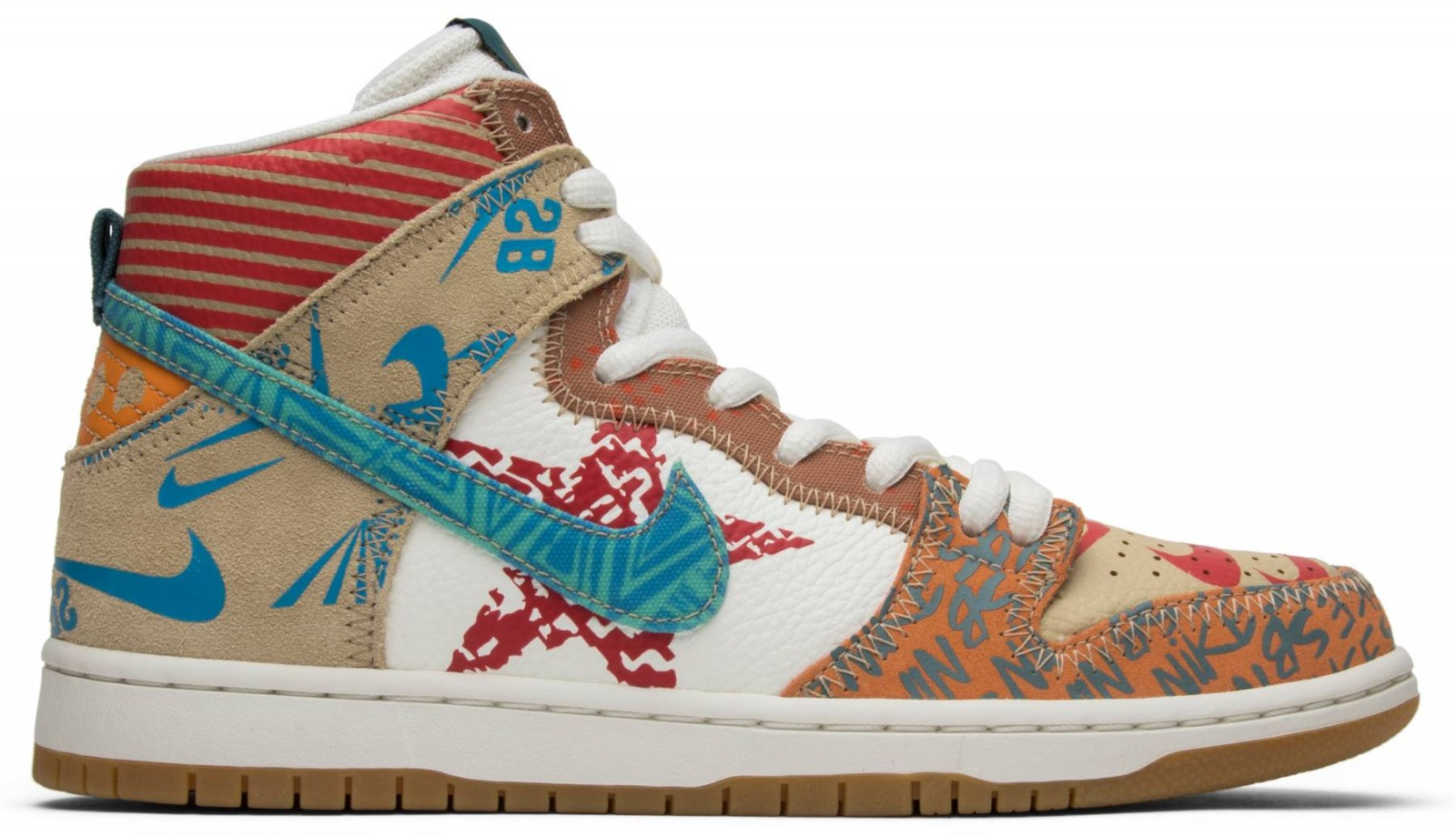 Nike Dunk SB Tony Cambell What - 2