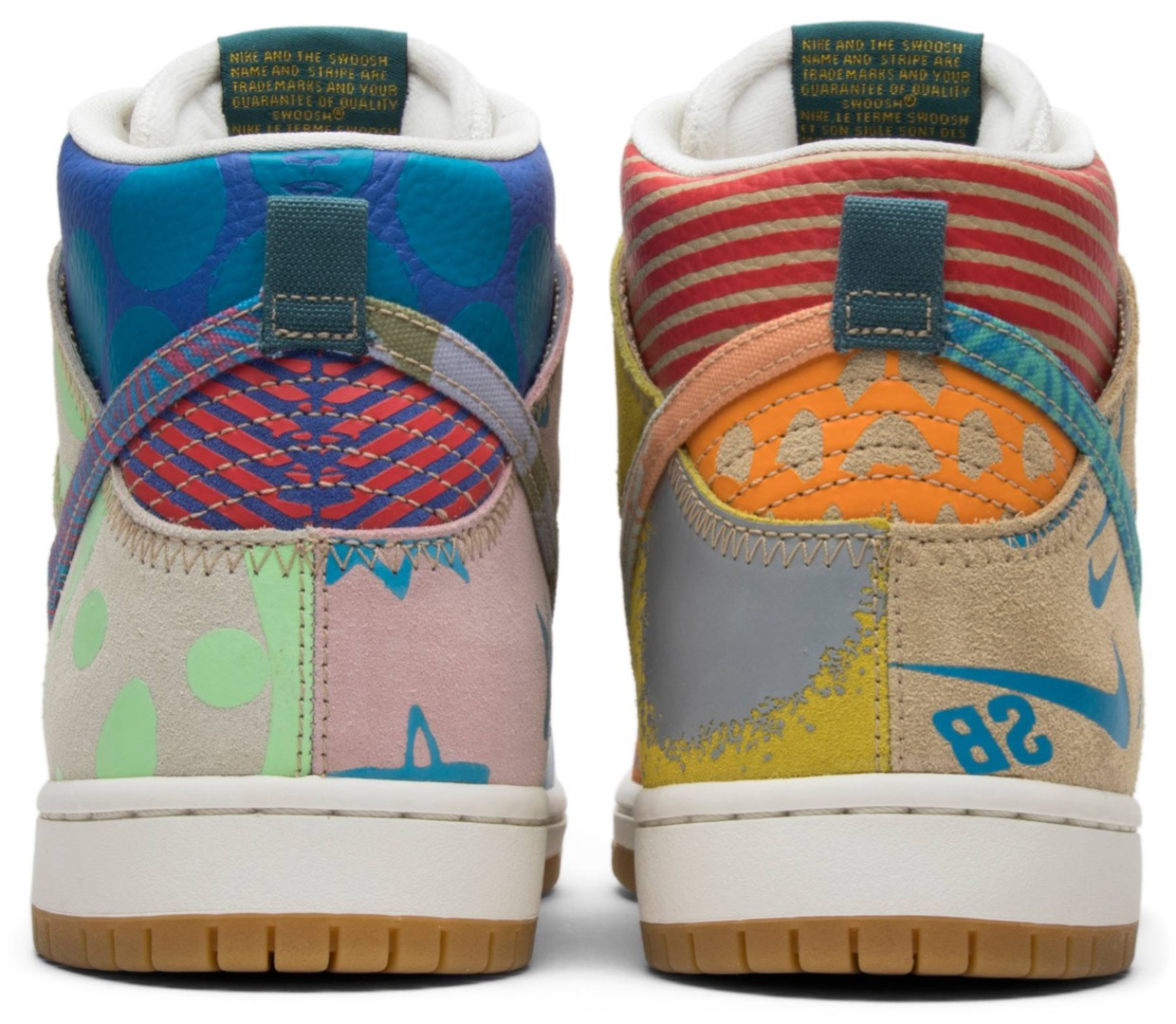 Nike Dunk SB Tony Cambell What - 3