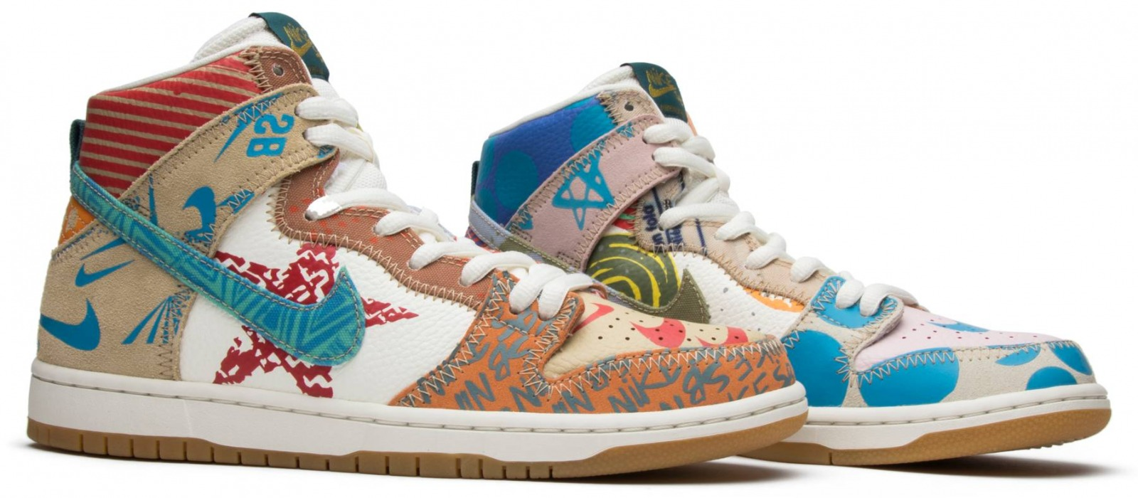 Nike Dunk SB Tony Cambell What - 1