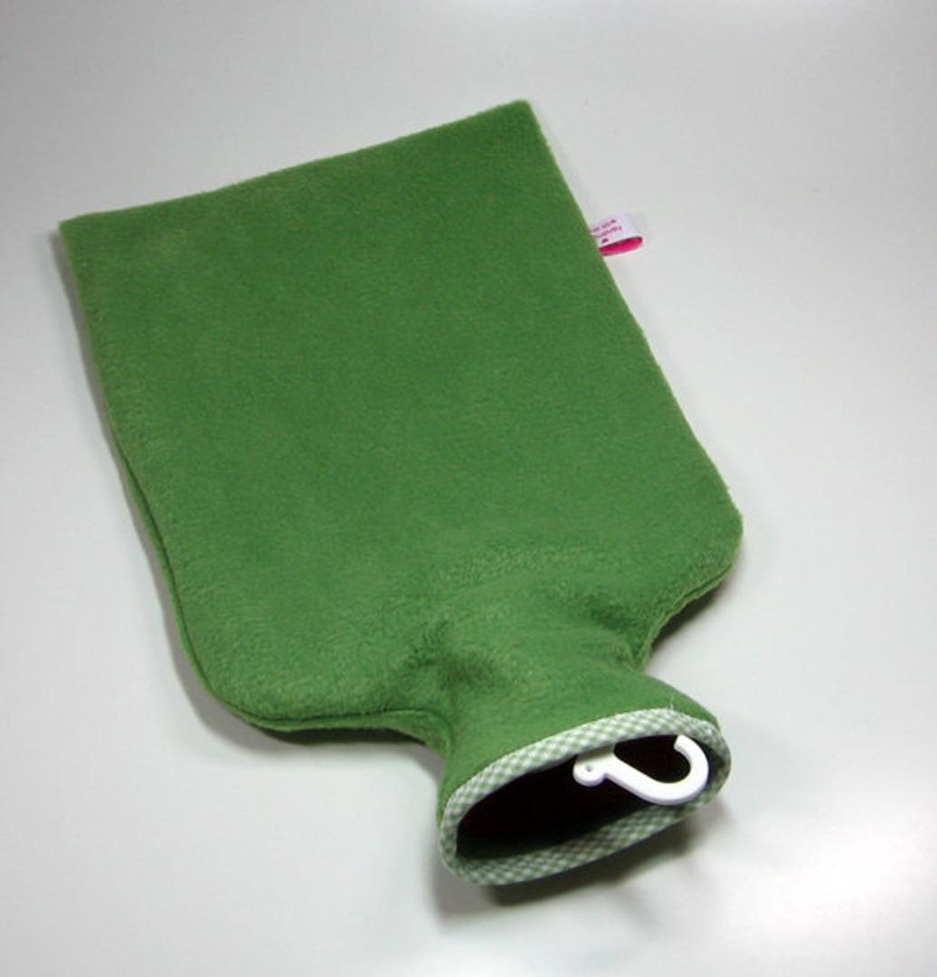 Wärmflasche - Grün mt Fliegenpilz 4