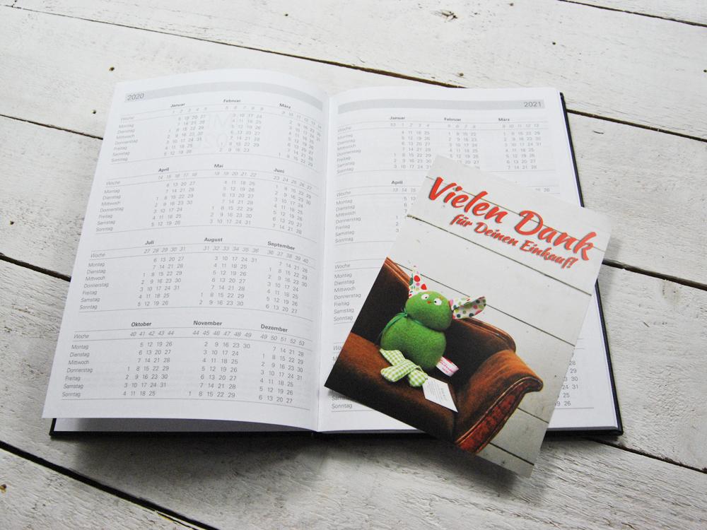 Taschenkalender DIN A5 für 2021 -