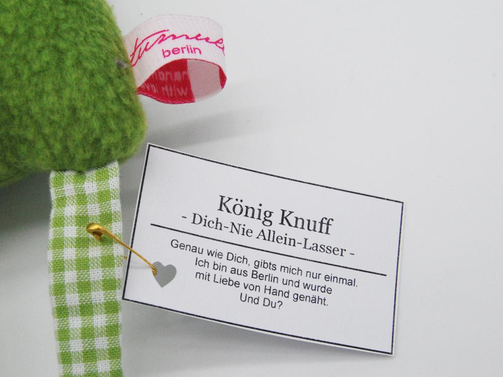 König Knuff Dich Nie Allein Lasser