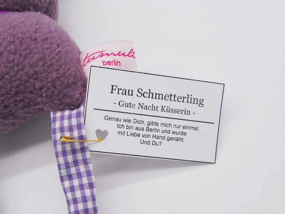 Frau Schmetterling - Gute Nacht Küsserin