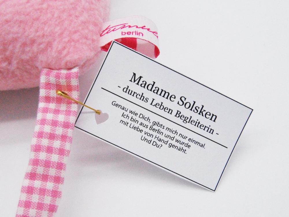 Madame Solsken - durchs Leben Begleiterin