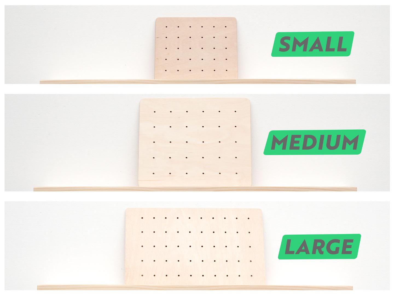 Schmuckhalter für die Wand mit geometrischer