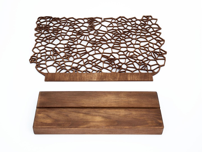 Ohrringhalter aus Holz ORGANIC II 3