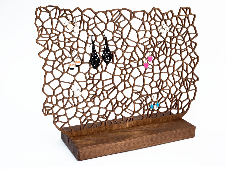 Ohrringhalter aus Holz ORGANIC II 2