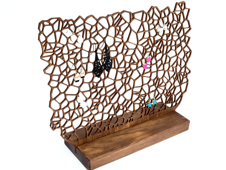 Ohrringhalter aus Holz ORGANIC II 4