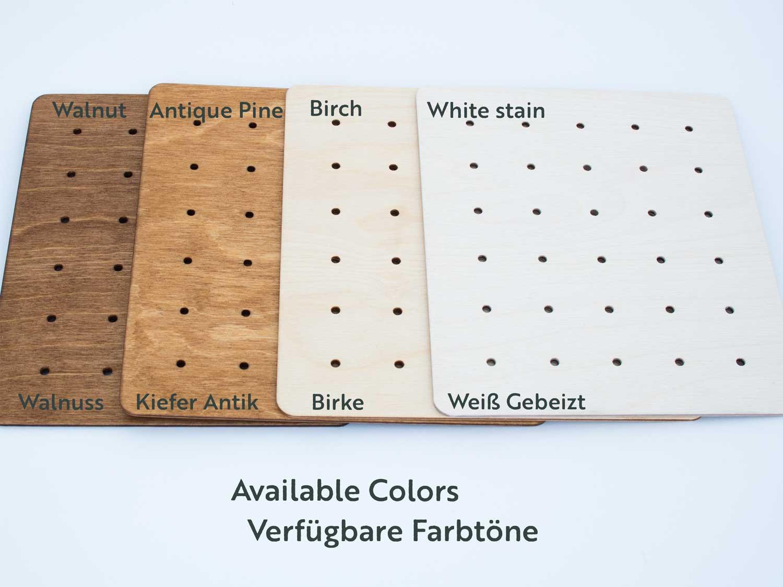 Ohrring Display aus Holz für die
