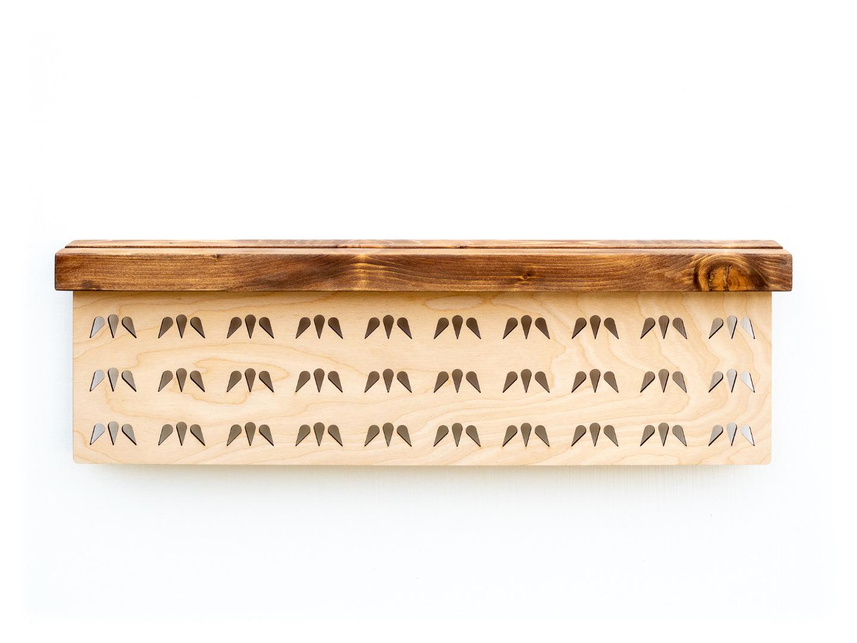 Holz Aufbewahrung für Ohrringe und Stecker