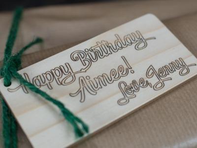 Gift wrapping - arborala Originals