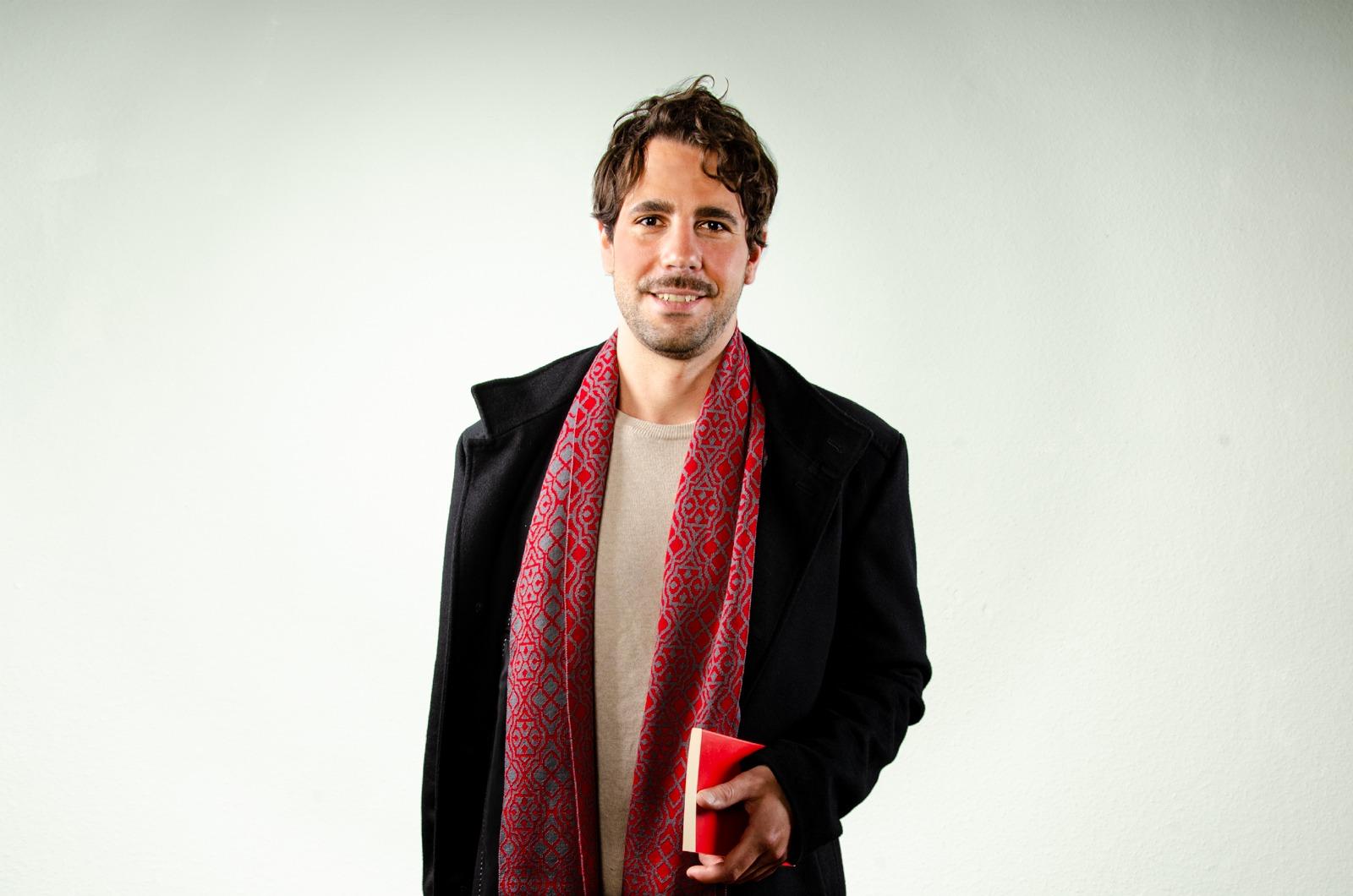 Merino scarf Net 4