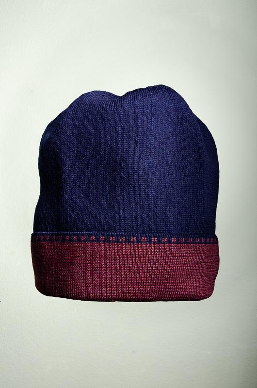 Merino Schal und Mütze Peking in
