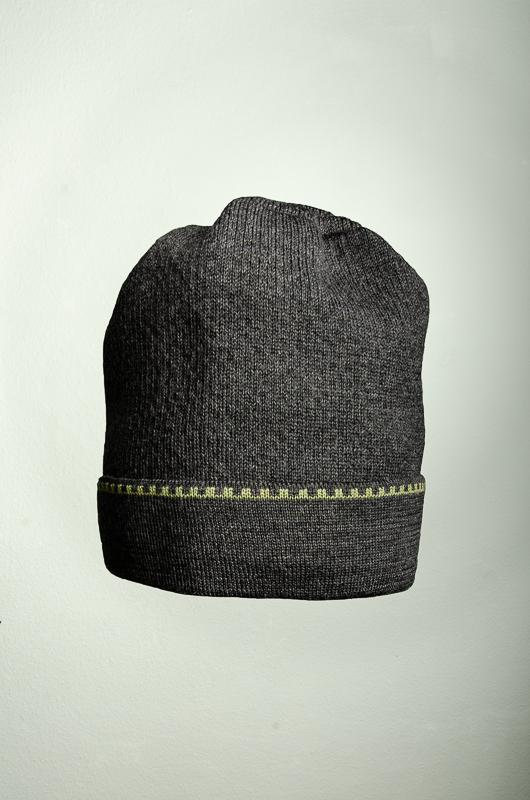 Merino Schal und Mütze Kranz in