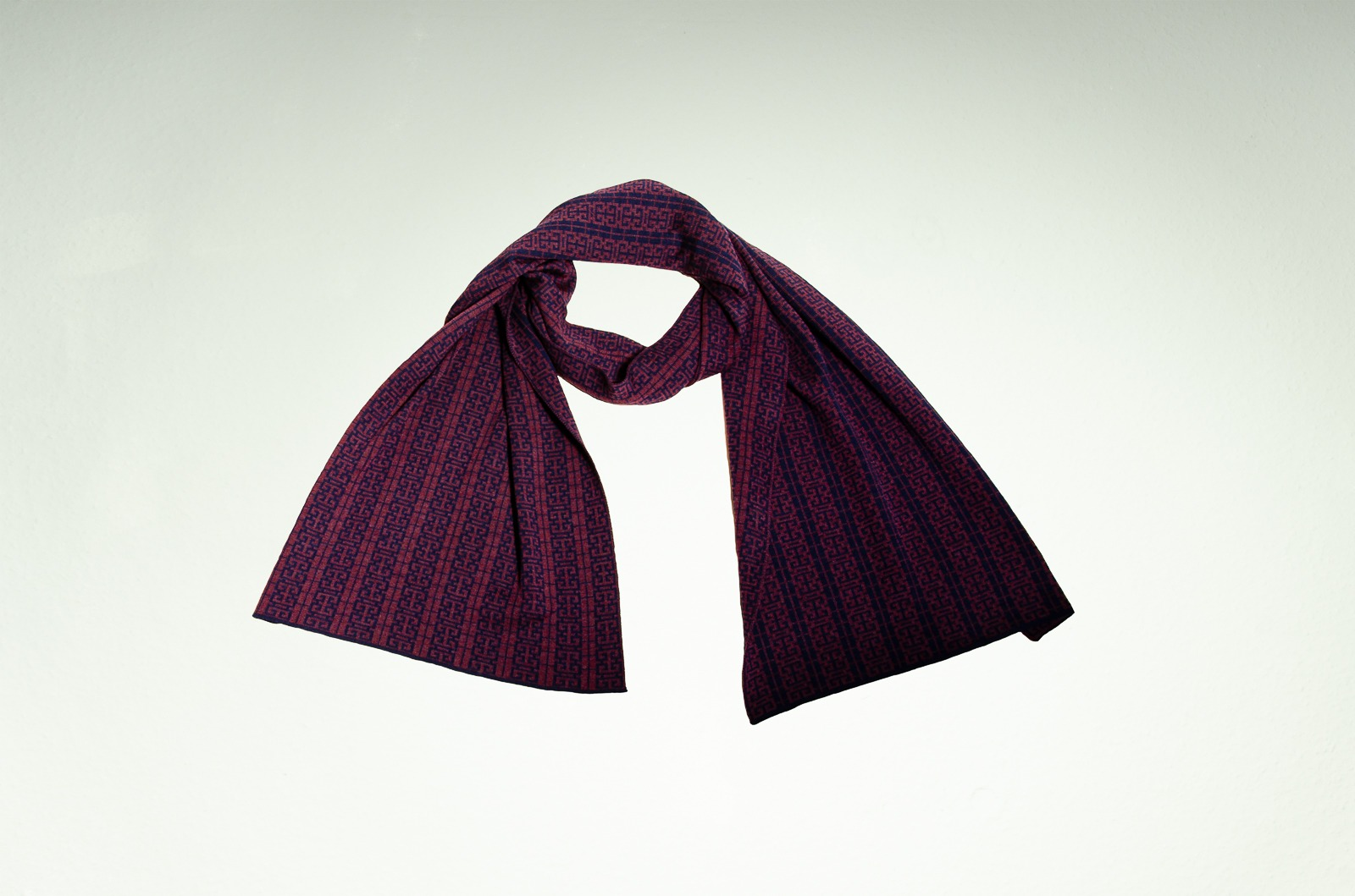 Merino scarf Beijing 3
