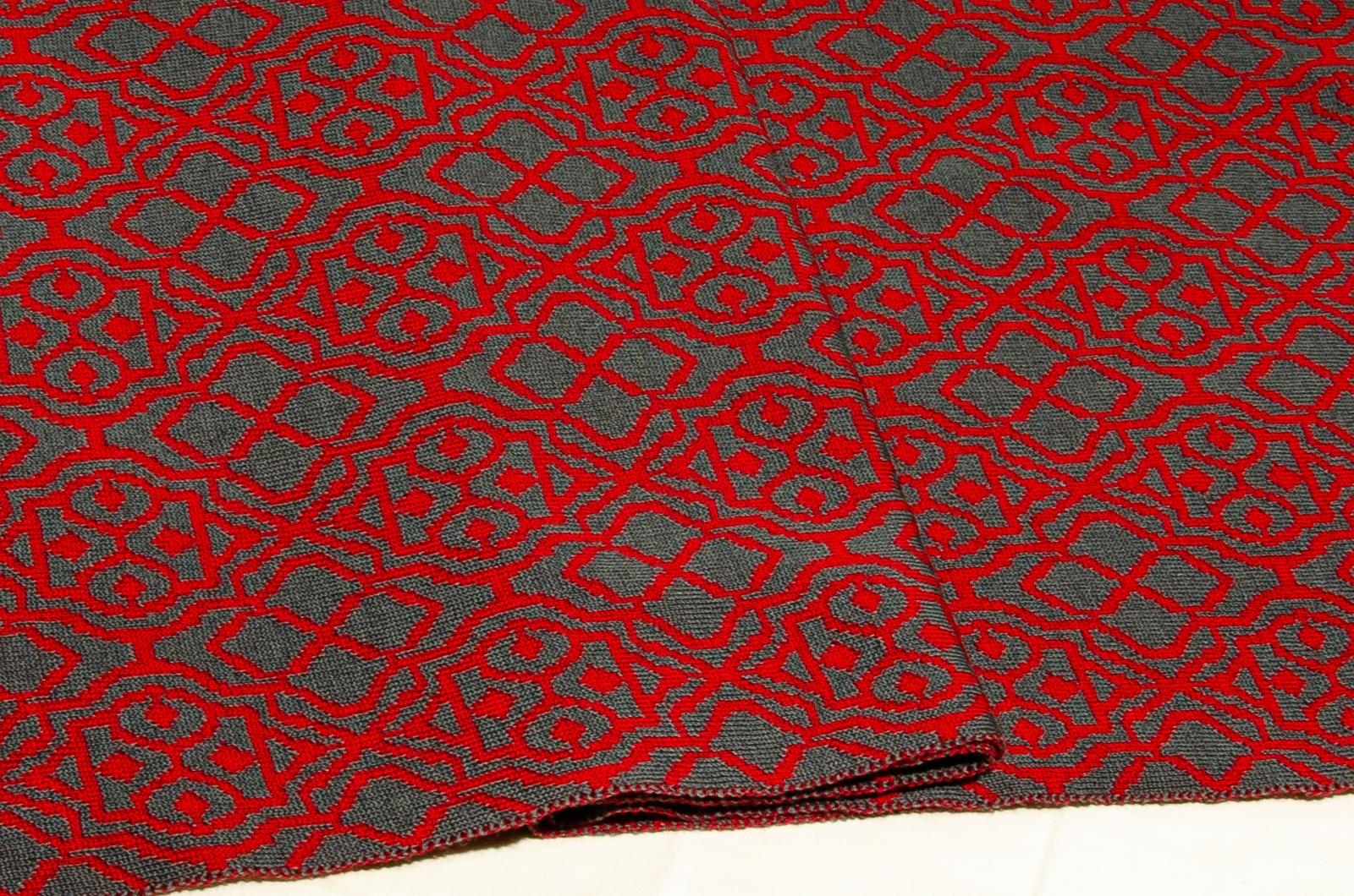 Merino scarf Net