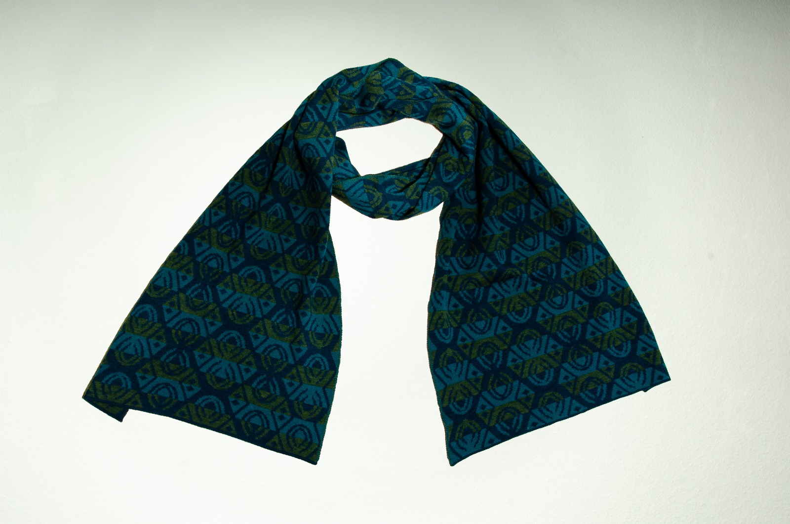 Merinoschal Lotus 3-farbig 3